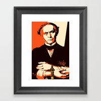 Houdini Framed Art Print