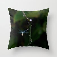 Nature Angel Throw Pillow