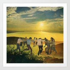 Dance (2013) Art Print
