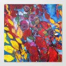 Roses garden Canvas Print