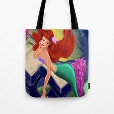 Little Mermaid So In Love  Tote Bag