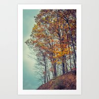 Above The Clouds In Appa… Art Print