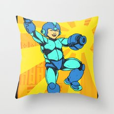 Mega Man Throw Pillow