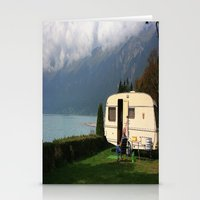 Alpine Lounging Stationery Cards