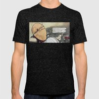 Dead Memories Mens Fitted Tee Tri-Black SMALL