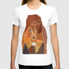 Dark Crystal Lion Womens Fitted Tee White SMALL