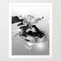 A moment of Lightness Art Print