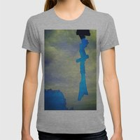 Signs in the Sky Collection - Hope Womens Fitted Tee Athletic Grey SMALL