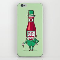 Sir Fancy Ketchup iPhone & iPod Skin