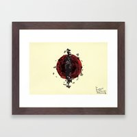 You, Contract And Expand… Framed Art Print