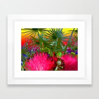 Friday's Hike Framed Art Print