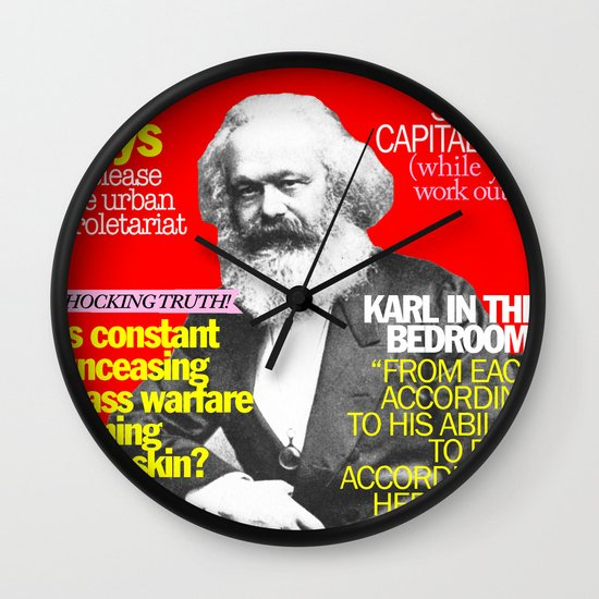COSMARXPOLITAN, Issue 1 Wall Clock