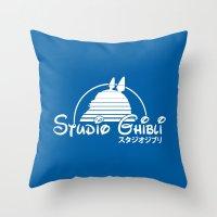 studio ghibli. Throw Pillow
