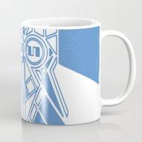 Power Wolf Blue Mug