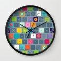 Tec Tile Wall Clock