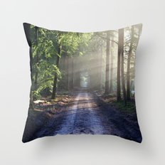 All Roads Lead To Advent… Throw Pillow