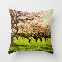 Orchard Lane Throw Pillow