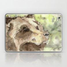 watercolor bear Laptop & iPad Skin