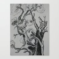 Canvas Print featuring Tree by Joy Reyes