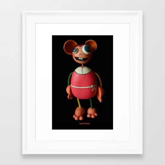 Lola Favolas Framed Art Print