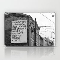 HOW TO BECOME A GHOST Laptop & iPad Skin