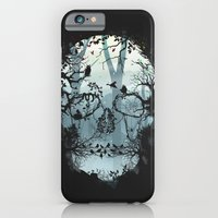 Dark Forest Skull iPhone 6 Slim Case