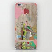 Bubblelandia iPhone & iPod Skin