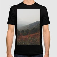 Whispering Wind Mens Fitted Tee Black SMALL