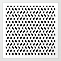 rhombus bomb Art Print