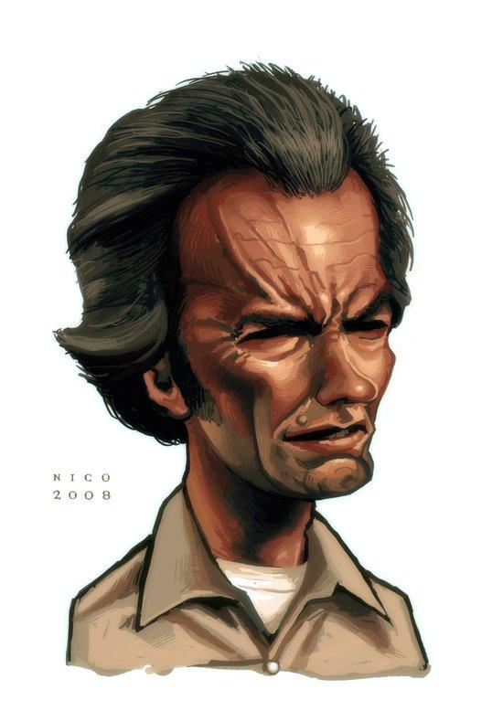 Clint Eastwood as Philo Beddoe Art Print