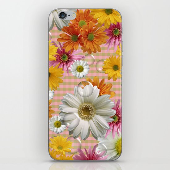 Retro Country Flowers iPhone & iPod Skin