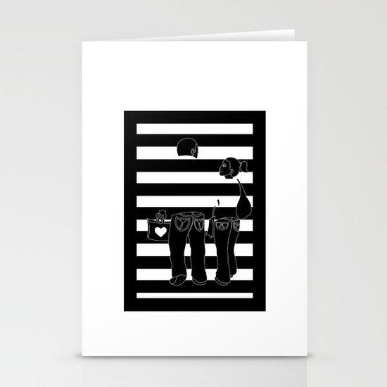 Stripes Stationery Card