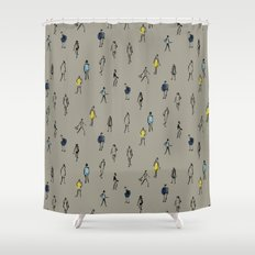 People Shower Curtain