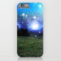 iPhone & iPod Case featuring Blue landscape by Silvana di Borboni