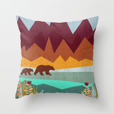 Peak Throw Pillow