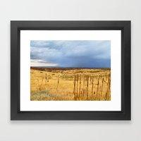 Horsetooth Hills Framed Art Print