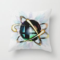 Smashing Colors Throw Pillow