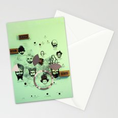 Over and Out!  Stationery Cards