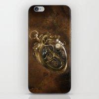 The Clockwork Music - fig.5 iPhone & iPod Skin