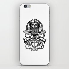 SAILOR SKULL iPhone & iPod Skin