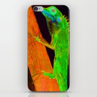 Nitelizard Escaping Fire iPhone & iPod Skin