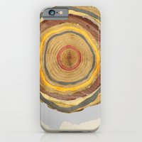 iPhone & iPod Case featuring Tree Rings by Rachael Shankman
