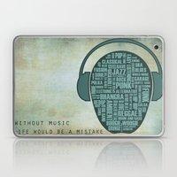 I Love Music Laptop & iPad Skin