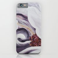 iPhone & iPod Case featuring Peony please. by Christine DeLong Creative Studio