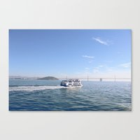 San Francisco. Winter 20… Canvas Print