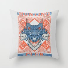 Hunting Club: Lagiacrus Throw Pillow