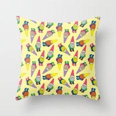 Garden Gnomes Throw Pillow