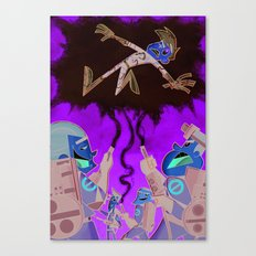 Ghostbusters vs. Danny Phantom Canvas Print
