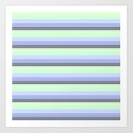 Art Print featuring StripeS by SimpleChic