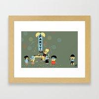 The Party (Alt) Framed Art Print